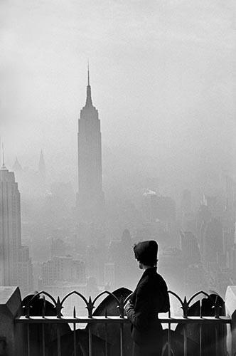 Empire State Building, New York City, 1955 by Elliott Erwitt