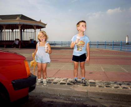 New Brighton. From 'The Last Resort', 1983-85 by Martin Parr