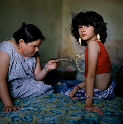 Original photograph: The Necklace, Buenos Aires, Argentina, 1999 by Alessandra Sanguinetti