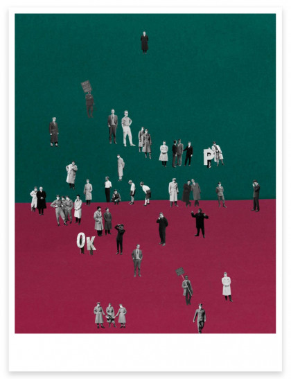 """Magnum Editions Poster: """"The First March of Gentlemen"""" Poland, 2017."""
