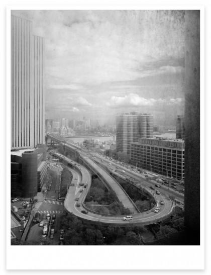 Magnum Editions Poster: Brooklyn Bridge. New York City, 2013.