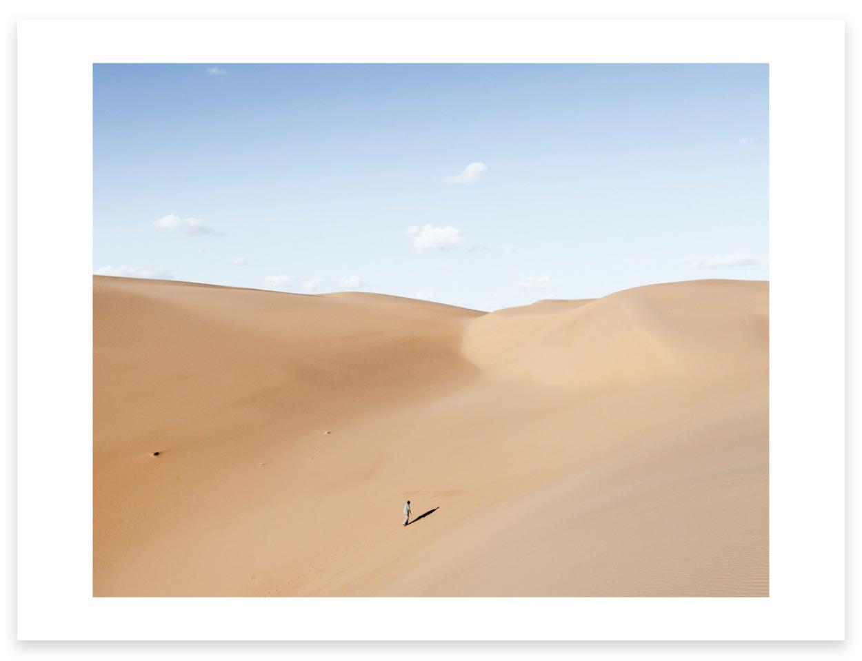 Magnum Editions Poster: El Sharara Oil Field. Libya, 2014.