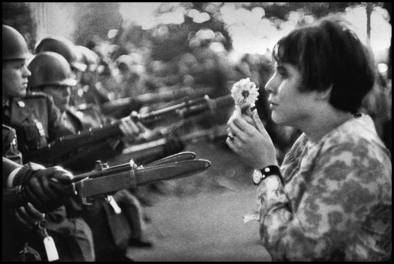 Behind the Image: Protesting the Vietnam War with a Flower • Marc Riboud •Magnum Photos