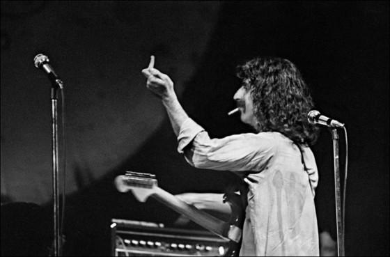 Frank Zappa. Fillmore East. New York City. USA. 1968.